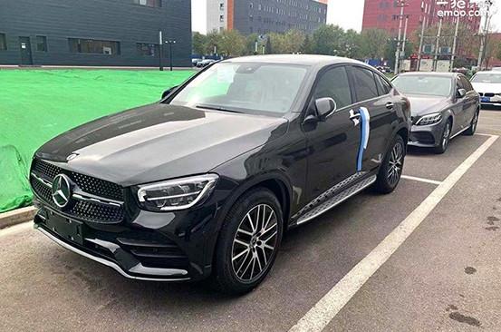 奔驰新款GLC Coupe到店 将于广州车展正式上市
