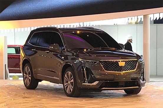 凯迪拉克XT6上海车展正式亮相