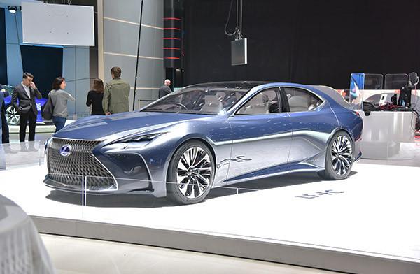 2016日内瓦车展:雷克萨斯LF-FC概念车