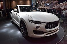 玛莎拉蒂全新SUV LEVANTE日内瓦车展首发