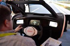 日本电装展示V2X技术