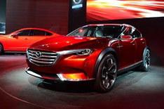马自达全新概念车定名CX-4