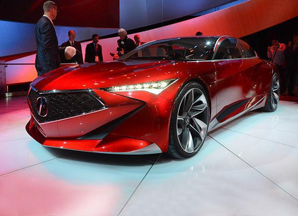 讴歌PRECISION概念车将影响国产SUV设计