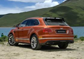 宾利添越V8汽油版有望7月发布