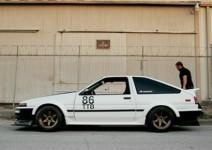颠覆传统 丰田AE86