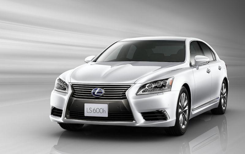 小改款的雷克萨斯LS日本发售 售价45万元起 汽车殿堂