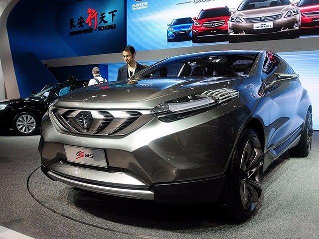 长安汽车明年推两款全新SUV CS15 CS95高清图片