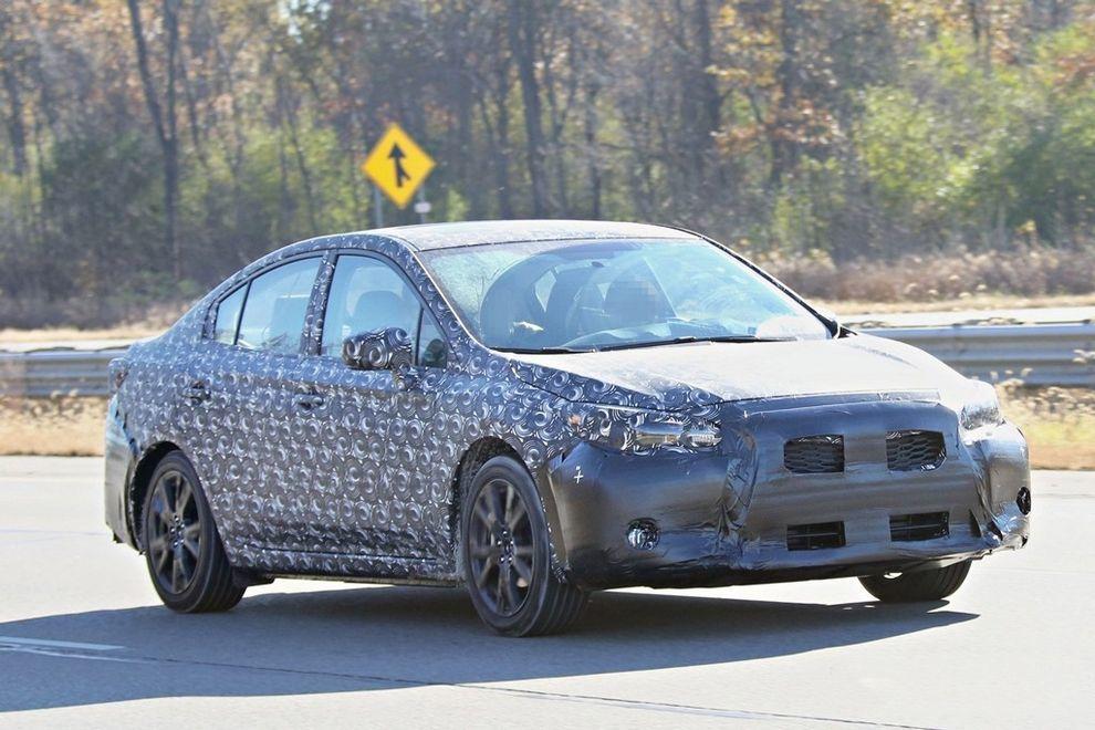 新款斯巴鲁中型SUV 2018年将进军美国