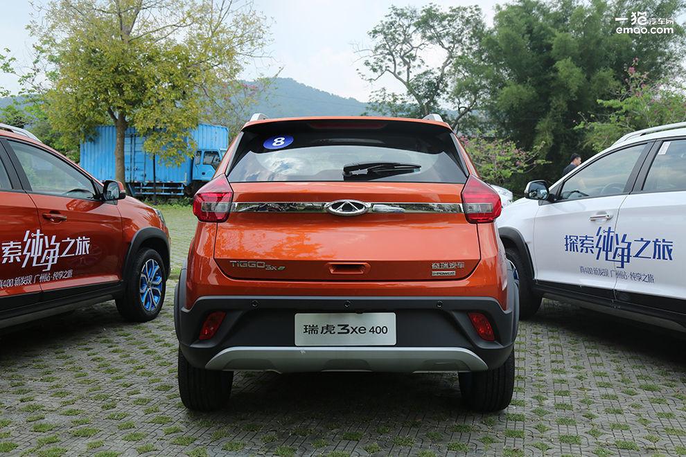 奇瑞新能源车型瑞虎3xe,eq1试驾,广州唯有美食不能辜负