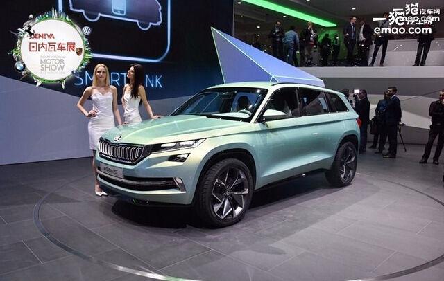 斯柯达全新高颜值SUV将国产 明年上市高清图片