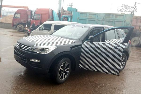 你听过汉腾汽车么 首款SUV汉腾X7曝光高清图片